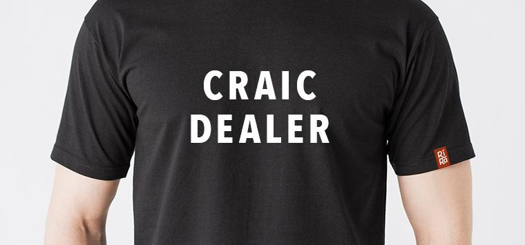t-shirt-craic dealer